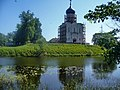 Bogolubovo The Church of the Intercession on the Nerl River Церковь Покрова на Нерли(1165) - panoramio.jpg