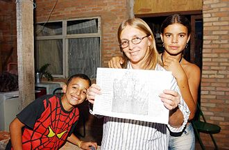 Bolsa Família - The family of Selma Ferreira was the first recipient of Bolsa Escola, a precursor to Bolsa Família enacted by Governor Cristovam Buarque of the Federal District in 1995.