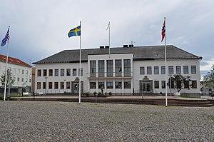 Borgholm - Image: Borgholms stadshus