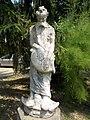 Bory Castle. Front Garden's statues. 'Noe' - 54, Máriavölgy Rd., Öreghegy, Székesfehérvár, Fejér county, Hungary.JPG