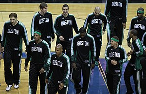 2010–11 Boston Celtics season - Boston Celtics on April 11, 2011