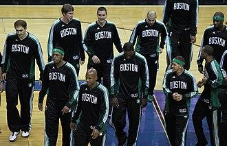 2010–11 Boston Celtics season - Boston Celtics on April 11, 2011