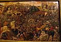Bottega di paolo uccello, pannelli di cassone con armi medici e rucellai, firenze, 1466 ca. 04.JPG
