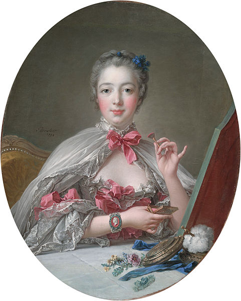 File:Boucher, François - Marquise de Pompadour at the Toilet-Table.jpg