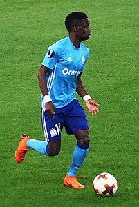 Seconda Maglia Olympique de Marseille Luiz GUSTAVO