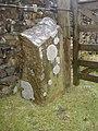 Boundary stone Worston moor - geograph.org.uk - 768585.jpg