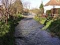 Bourne Rivulet at Stoke - geograph.org.uk - 317926.jpg