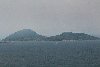 Bowen Island - Bowen Island from the BC Ferry