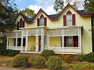 National Register of Historic Places listings in Talladega County, Alabama - Image: Boxwood Talladega Alabama