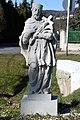 Bozsok, Nepomuki Szent János-szobor 2021 03.jpg