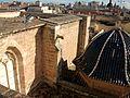 Braç del creuer i cúpula, catedral de València.JPG