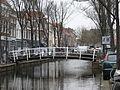 Brabantse Turfmarkt Delft pedestrian bridge.JPG