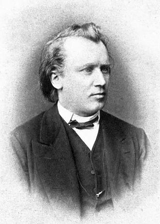 Johannes Brahms - Johannes Brahms, photographed c. 1872