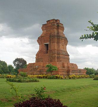Mojokerto Regency - Brahu Temple Trowulan at the town of Trowulan