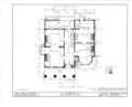 Brandt House, 205 Main Street, Belleville, Essex County, NJ HABS NJ,7-BELVI,2- (sheet 2 of 22).png