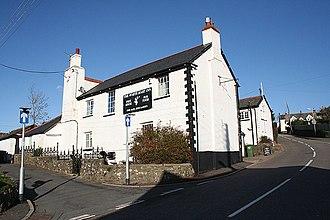 Bratton Fleming - Image: Bratton Fleming, The White Hart Inn geograph.org.uk 275962