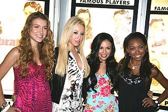 Bratz (2007 film) - The cast of Bratz at the film's Canadian premiere in Toronto