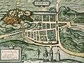 Braun & Hogenberg, Edenburgum, Scotiae Metropolis (Edinburgh) c.1574.jpg