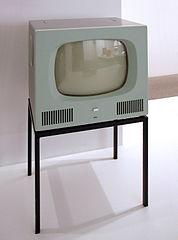 Telewizor Braun z lat 50.