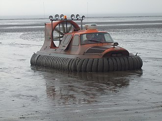 Independent lifeboats in Britain and Ireland - Image: Breanrescuehovercraf t