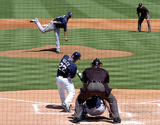 2007 San Diego Padres season - March 21 spring training game against the Milwaukee Brewers at the Peoria Sports Complex in Arizona.