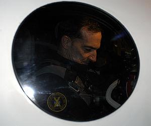 SpaceShipOne Flight 17P - Brian Binnie runs his Prelaunch Checklist inside SpaceShipOne flight 17P