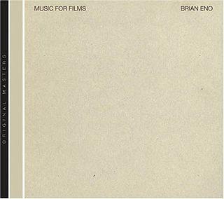<i>Music for Films</i> 1978 studio album by Brian Eno