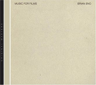 Music for Films - Image: Brian Eno Music for Films