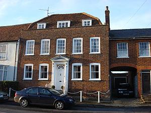 Edward Bawden - Brick House in Great Bardfield