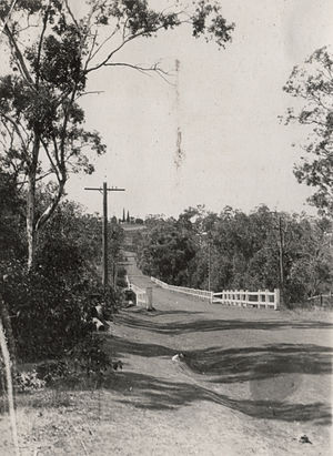 Kelmscott, Western Australia - Bridge below the school, Kelmscott, Western Australia, 23 March 1928