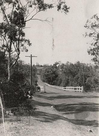 Kelmscott, Western Australia - Bridge below the school, Kelmscott, Western Australia, 23 March 1928