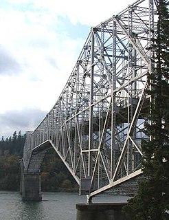 Bridge of the Gods (modern structure) steel truss cantilever bridge in Oregon in the United States