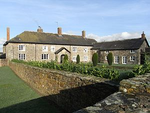 Brightley, Chittlehampton - Brightley Barton, the seat of the principal secondary manor within the parish of Chittlehampton. The 17th-century house was substantially larger than the present building