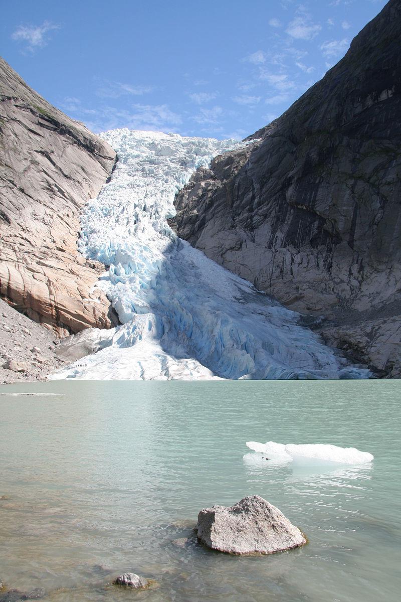 【北歐景點】挪威散步看冰川 - Briksdal Glacier 逐漸消融的冰河哀愁 10