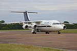 British Aerospace Avro RJ100 (14521581727).jpg