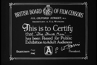 Film censorship in the United Kingdom Condor Ferries acquired this