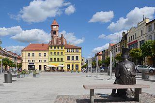 Brodnica Place in Kuyavian-Pomeranian Voivodeship, Poland