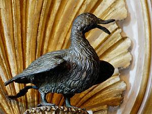 Supplicia canum - Roman Imperial bronze goose (Capitoline Museums)