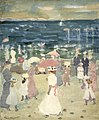 Brooklyn Museum - Sunday on the Beach - Maurice Brazil Prendergast - overall.jpg