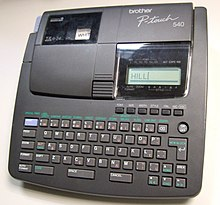 Label printer - Wikipedia