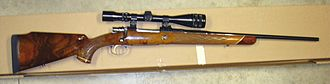 Browning Arms Company - Browning Safari model made in Belgium in .270 Winchester