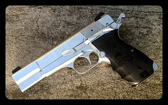 Browning Hi-Power - Browning Hi Power SFS with Crimson Trace laser sight