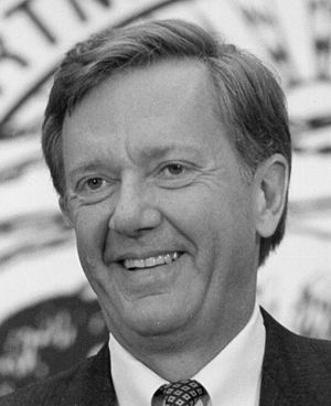 Bruce Babbitt - Babbitt as Secretary of the Interior in Washington, D.C. circa 1993