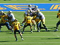 Bruins on offense at UCLA at Cal 2010-10-09 26.JPG