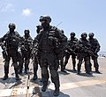 Brunei Special Forces unit on USS Howard (DDG-83) during CARAT 2008 2.jpg