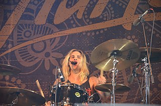 Bruno Agra Drummer of We Are Harlot