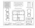 Bryant House, 116 Wilson Street, Bement, Piatt County, IL HABS ILL,74-BEM,1- (sheet 1 of 2).png