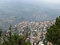 Bsharri (Becharre) village as seen from the slopes of Mt Lebanon, Bsharri, Lebanon.jpg