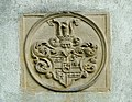 Buchholzer Schlosskapelle - Portal - Wappen (rechts oben).JPG