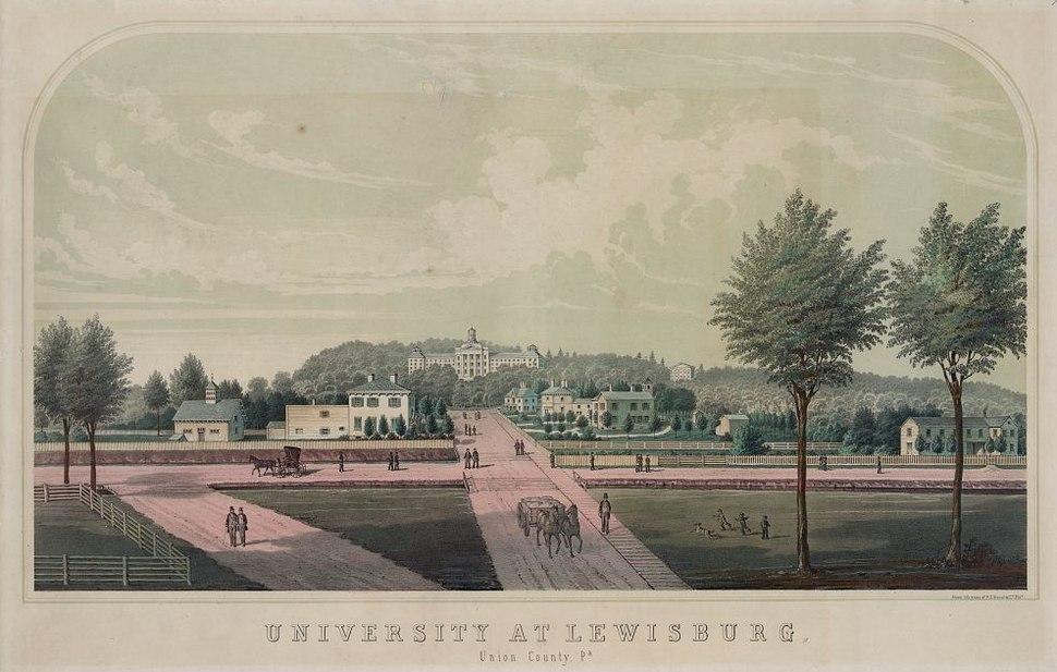 Bucknell University, 1870s